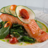 Wild Alaskan Salmon Royalty Free Stock Photo