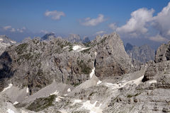 Wild Albanian Alps Royalty Free Stock Photo