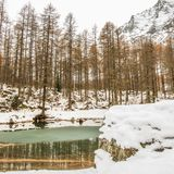 Lac du Pellaud Royalty Free Stock Photography