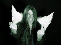 Wild angel Stock Photo