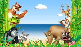 Wild animal. 3d rendered illustration of wild animal Royalty Free Stock Photography