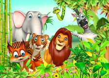 Wild animal. 3d rendered illustration of wild animal Stock Images
