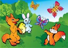 Wild animals. Stock Image