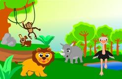 Wild animals Stock Images
