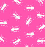 Wild Ants Pattern Background Stock Photography