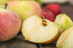 Wild apples Royalty Free Stock Photography
