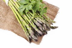 Wild asparagus Stock Image