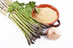 Wild asparagus Stock Photos