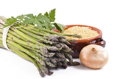Wild asparagus Royalty Free Stock Photography