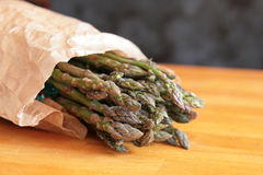 Wild asparagus Royalty Free Stock Image