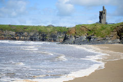 Free Wild Atlantic Way Castle Royalty Free Stock Photography - 61601607