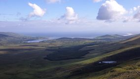 Wild atlantic way in ireland. Impression of the roads to follow Royalty Free Stock Photography