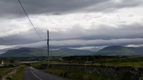 Wild atlantic way in ireland. Impression of the roads to follow Stock Photos