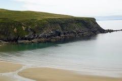 Wild Atlantic Way  Malin Beg Silver Beach royalty free stock images