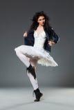 Wild ballet dancer Stock Image