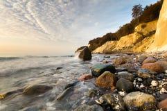Wild beach. Baltic Sea,Germany Stock Photos