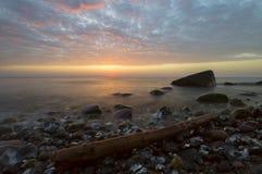 Wild beach. Baltic Sea,Germany Stock Photo