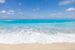 Wild beach of the island of Lefkada Royalty Free Stock Images