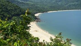 Wild beach . Royalty Free Stock Image