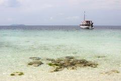 Wild beach near Thassos Stock Image