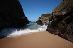 Wild beach in Portugal Royalty Free Stock Image