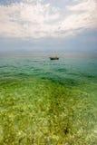 Wild beach in Pula, Croatia Stock Image