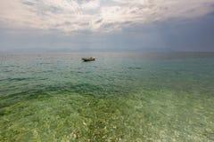 Wild beach in Pula, Croatia Royalty Free Stock Photography