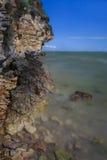 Wild beach, Romania Stock Images