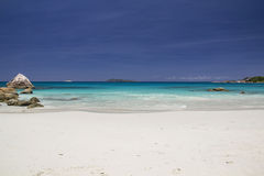 Wild beach in Seychelles Stock Photography