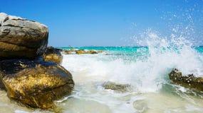 Wild beach Royalty Free Stock Photography