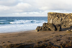 Wild Beach at the Snaefellsnes peninsula. Wild Beach at the Snaefellsnes peninsula, Iceland Stock Photos