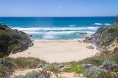 Wild beach,  Vila Nova de Milfontes. Alentejo, Portugal Royalty Free Stock Photo
