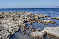 Wild beaches of Cape Meganom Stock Photos