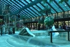 Wild Bear Falls Water Park at Westgate Smoky Mountain Resort in Gatlinburg, Tennessee Stock Image
