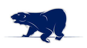 Wild bear vector icon Stock Image