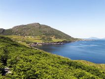 Wild Beara Peninsula in West Cork royalty free stock photo
