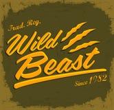 Wild Beast Stock Photo