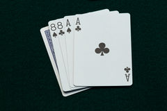 Wild Bill Dead Mans Hand Royalty Free Stock Images