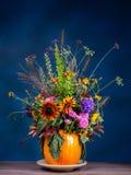 Wild blommabukett arkivfoto