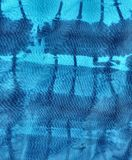 Wild Blue Waves Painting Stock Photo