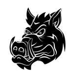 Wild boar. Eps 10  illustration Design Royalty Free Stock Photos