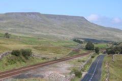 Free Wild Boar Fell, Settle To Carlisle Railway, England Royalty Free Stock Image - 194209316