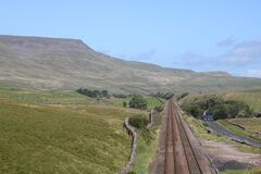 Free Wild Boar Fell, Settle To Carlisle Railway, England Royalty Free Stock Images - 194209329
