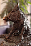 The wild boar of Florence Royalty Free Stock Photo