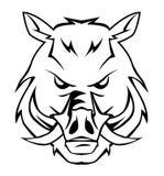 Wild boar. Illustrator desain .eps 10 Royalty Free Stock Photo