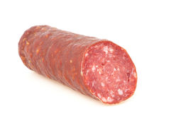 Wild boar salami Stock Images