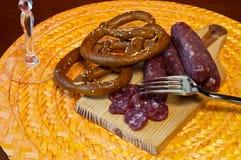 Wild Boar Sausage Royalty Free Stock Image