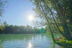 Wild Brenta River Royalty Free Stock Photo