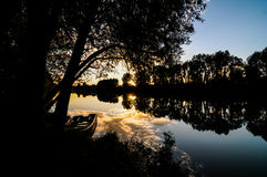 Wild Brenta River Stock Images