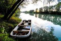 Wild Brenta River Royalty Free Stock Images